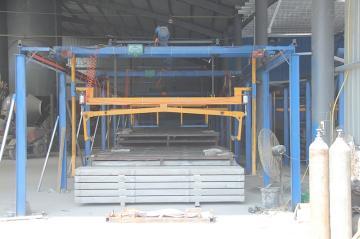 水泥漏粪板自动生产设备