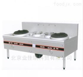 豪华双炒双温工程灶|中餐燃气炒菜灶