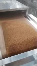20kw厂家定制五谷杂粮微波烘焙设备 微波熟化机