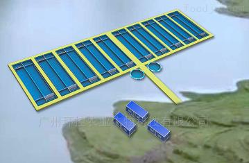 HK-X01悬浮跑道式流水养殖系统