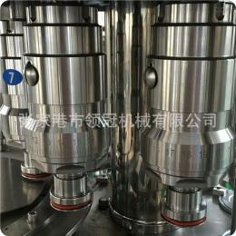 LG18-18-6全自動果汁灌裝生產線/玻璃瓶高產量液體食品包裝機飲料包裝機