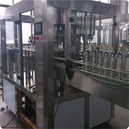 玻璃瓶碳酸飲料生產線 全自動含氣雞尾酒灌裝機