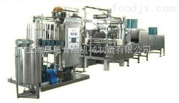 青海SE-300型全自动棒棒糖浇注生产线阿尔卑斯棒棒糖生产线