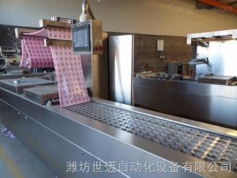 拉伸膜豆制品真空包装机