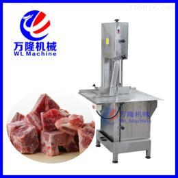 WJG-400锯骨机切冷冻食品 大台面不锈钢锯骨机 切骨机