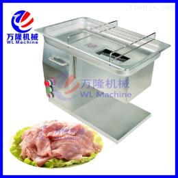 QH-5全自动台式切肉机专业切鲜肉片,肉丝,肉丁 不锈钢电动