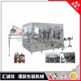 RCGF16-16-6茶果汁飲料灌裝包裝設備生產線,全自動飲料灌裝機