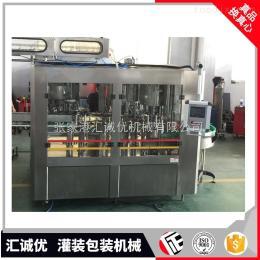RCGF14-12-5小产量全自动茶果汁饮料灌装机,热灌装生产线