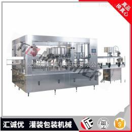 CGF32-32-8全自动三合一灌装包装设备生产线,饮料灌装机