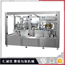 GCG12-1全自动易拉罐灌装机,灌装封口二合一机,罐装饮料设备