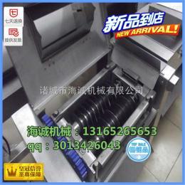 qd350潍坊海诚350自动肉类切丁机,多功能冻肉切丁机
