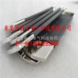 电池组连接铜排 冲孔弯折热缩管套铜排 镀镍电芯连接铜排