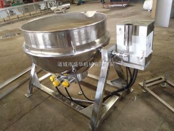 200L生产制造不锈钢夹层锅厂家专业制造