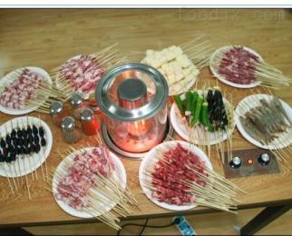KW15-D无烟电烤炉自动烧烤炉自转烤串机韩香缘厂家直销