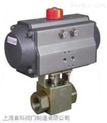 Q611YQ611Y蒸汽气动高压球阀,导热油内螺纹高温气动球阀,上海阀门厂家