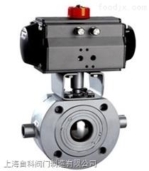 BQ671BQ671蒸汽气动保温球阀,导热油不锈钢保温气动球阀,上海阀门厂家