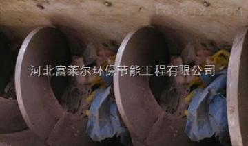 泥漿不落地用無軸螺旋輸送機