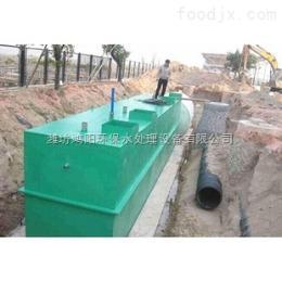 wsz-0.5常德地埋式一體化生活污水處理設備  共創綠色文明
