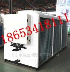 风冷热泵模块机组冷凝器的型式与布置