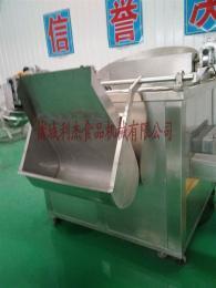 LJ-1000供应电加热豆泡油炸机 休闲食品多功能油炸设备 油炸锅2016新品