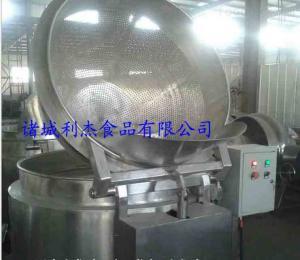 LJ利杰多功能油水混合油炸机 不锈钢自动出料油炸锅