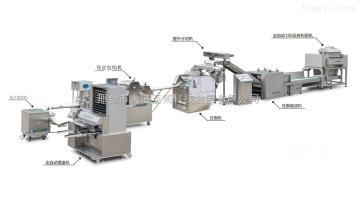 数控全自动速冻饺子生产流水线