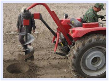 挖坑机钻孔机汽油打洞机 耗电低