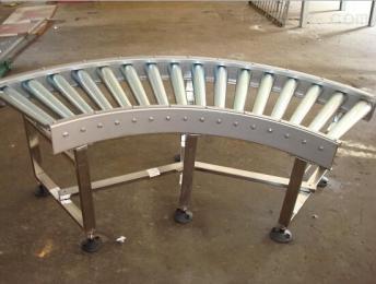 滚筒输送机福州生产分拣倾斜输送滚筒 线和转弯滚筒线
