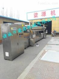 LY-全自动鱼豆腐油炸生产线