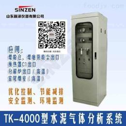 TK-4000常溫高溫水泥旋窯在線氣體分析系統