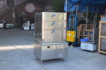 FN-DZG方宁双门电磁蒸饭柜 24盘电蒸柜厂家 伙房蒸炉图片