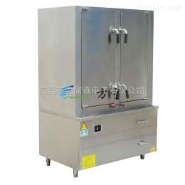 FN-25KW方宁双门24盆蒸饭柜 单控大型电磁蒸饭柜 厂家直销