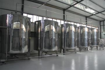 DF-1000酿造柿子醋生产线