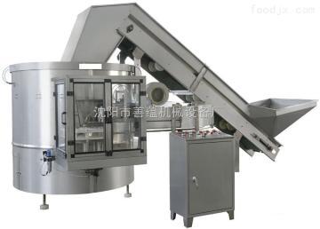 LP-1善蘊機械-水廠配套設備自動理瓶機