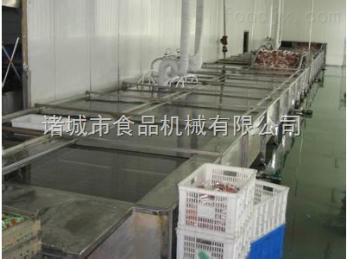 YPZ-2000型鸡爪漂烫机|蒸汽漂烫机