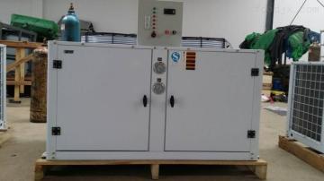 菇房环境控制冷风机,恒温冷库冷冻机组