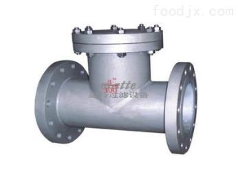 DN50供应     DN50 T型过滤器  直通型