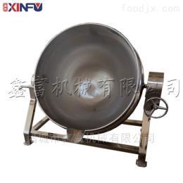 XF-100L猪头肉不锈钢蒸煮锅 可倾式电加热夹层锅