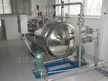 ZQ-1200马口铁罐头蒸汽式杀菌锅,八宝粥杀菌釜