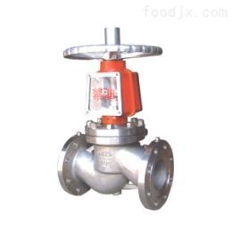 YJ41W不锈钢氧气截止阀,手动不锈钢法兰氧气截止阀