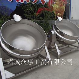 100L不锈钢节能型立式夹层锅