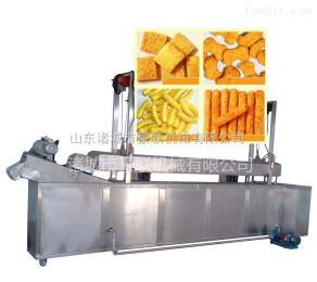 HLZX-3000小食品全自动油炸生产线