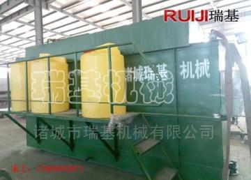 食品厂污水处理气浮机设备瑞基RQFJ-1