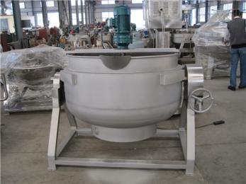 400L电热夹层锅,火锅底料炒锅,豆浆夹层锅