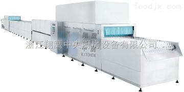 XYQX-1特大型餐具清洗消毒生产线 自动洗碗机