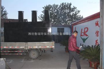GY-100酒泉地埋式一體化污水處理設備《白菜加工廠污水》