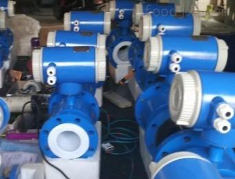 插入式污水流量传感器 DN250管道式污水电磁流量计
