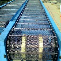 網鏈輸送機河北不銹鋼網鏈輸送機訂制規格及價格說明