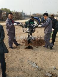 ST-W2园林机械挖坑机 植树挖坑机视频