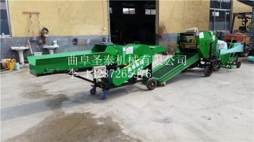 ST5552A玉米秸秆粉碎打包机价格 青饲料打捆机